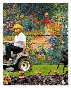 New Neighbor Fine-Art Print by Barry Kite at UrbanLoftArt.com