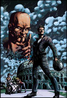 Le Strade della Vendetta by Elisa-Feliz on DeviantArt Batman, Deviantart, Superhero, Comics, Gallery, Fictional Characters, Happy, Roof Rack, Cartoons