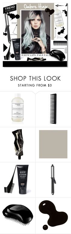 """""""Beauty Trend Forecast: Ombré Hair"""" by chocolate-addicted-angel ❤ liked on Polyvore featuring beauty, Christophe Robin, GHD, Aesop and Tangle Teezer"""