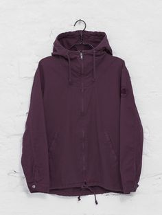 R-Collection Zipper Anorak plum
