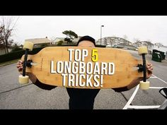 5 Easy Longboard Tricks For Beginners - YouTube