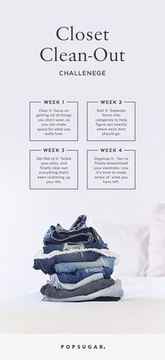 This 30-Day Closet Clean-Out Will Change Your Wardrobe and Your Life