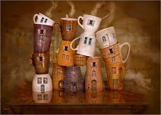 Kaffee Zeit in der Küche Poster von Stefan teddynash