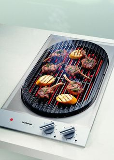 Gaggenau VR 230 Electric Grill for the indoors #kitchen #luxury