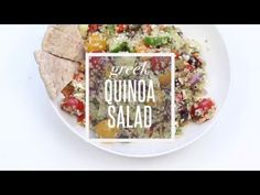 Greek Quinoa Salad - Back to Her Roots