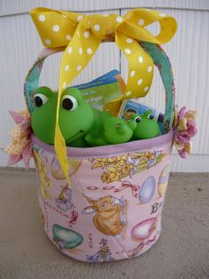Small Fry & Co. : Fabric Easter Basket Tutorial