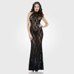 Coco High Neck Gown