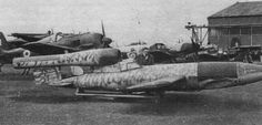 The Kamikaze : Secret variant of Hitler's was designed to let pilot fly it to British targets Ww2 Aircraft, Fighter Aircraft, Military Helicopter, Military Aircraft, Ww2 Pictures, Experimental Aircraft, History Online, Ww2 Planes, Nose Art