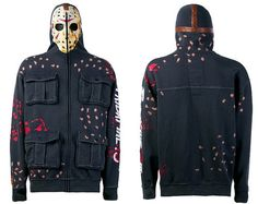 Michael Myers Hoodie | Marc Ecko Friday the 13th Jason hoodie