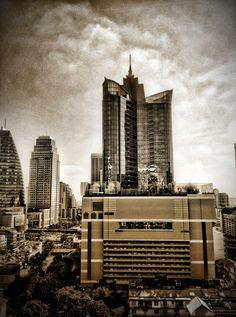 Terminal 21 building in Bangkok