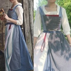 Belle Peasant Dress/ Beauty and the Beast 2017/ Disney Belle/