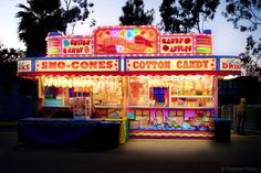 Carnival Concession Stand