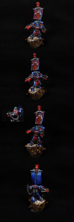 40k - Pedro Kantor of the Crimson Fist Space Marines by fantasygames