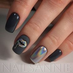 Gel Nail Designs You Should Try Out – Your Beautiful Nails Crome Nails, Nailart, Nail Lacquer, Nails Tumblr, Super Nails, Creative Nails, Matte Nails, Polish Nails, Acrylic Nails