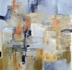 "Big City by Filomena Booth Acrylic ~ 30"" x 30"""