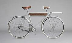 Urban bike: metal + wood