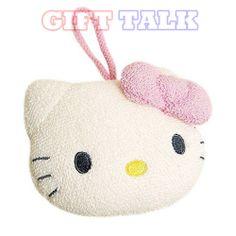 "Hello Kitty Soft Baby Shower Puff Bath Soap Sponge ""New"" | eBay"