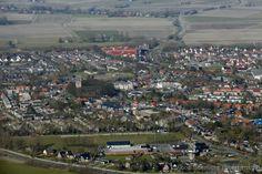 luchtfoto van Stiens