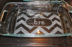 A Funky New Way to Personalize your Pyrex - Trading Phrases
