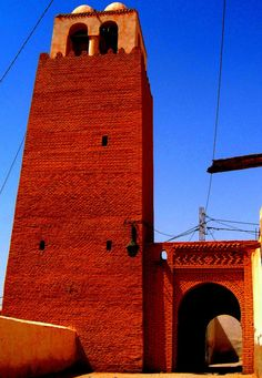 Red Brick Mosques of Nefta - Tunisia Persian Architecture, Beautiful Architecture, Beautiful Places To Visit, Beautiful World, Beautiful Mosques, Islamic World, Chef D Oeuvre, Chiaroscuro, Travel Tours