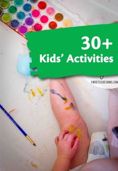PIN FOR LATER: 30+ kids crafts to get them imagining! | easy DIY kid's crafts and art projects | kids crafts