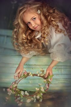 Anastasia Orub (born May 15, 2008) Russian child model. Natalia Rodionova  Photography.
