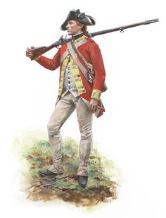 Webb's Additional Regiment , soldier wearing a captured British regimental coat of the 20th Regiment of Foot. By Don Troiani