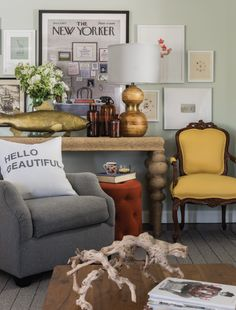 Want to learn how to integrate those inherited family pieces to fit in with your own personal style? Check out this great article from my magazine, Home by Design! #Heirloom #Eclectic