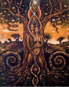 Tree of life - VOODOO PRIEST MAN