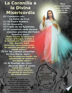 Catholic Prayers In Spanish, Praying The Rosary Catholic, Rosary Prayer, Catholic Religion, Holy Rosary, God Prayer, Power Of Prayer, Daily Prayer, Spiritual Prayers
