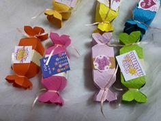 Caramelos te quiero mamá #Scrap
