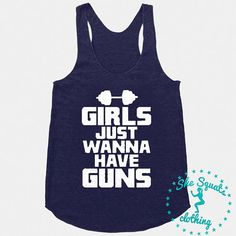 Girls Just Wanna Have Guns Gym Tank Top. Womens Fitness Tank Top. Workout Tank. Gym Tank Top. Racerback burnout. Beast Mode. Beast Tank Top