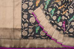 Shivangi Kasliwaal Handwoven Banarasi Silk Sari