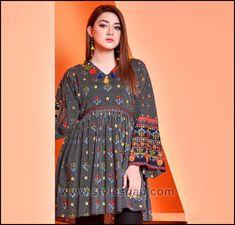 d6c699de5efd Summer Fashion Lawn Kurti Designs Trends Latest Collection 2018-2019 ...