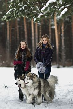 Alaskan Kids by Igor Oussenko, via Behance