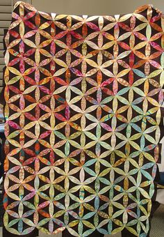 Joseph's Coat applique quilt