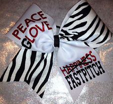 Cheer Bow - Fastpitch Softball - Boutiquebows