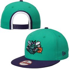 Charlotte Hornets New Era NBA Bind Back 9FIFTY Adjustable Hat - Purple   CharlotteHornets 7fde507c1e4