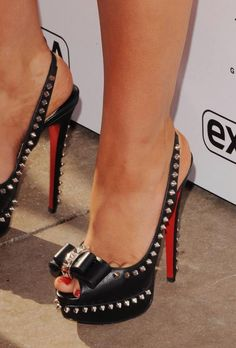 designer red sole shoes for women celebrities wearing louboutin sandals pictures