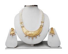 An elegant Thewa Jewellery set from Rajasthan India