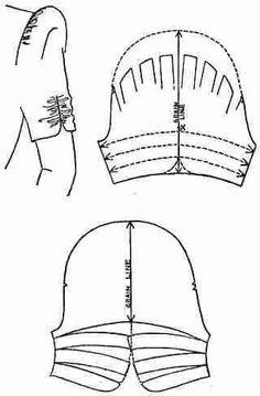 Cartamodello manica 31