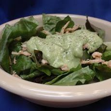 Cucumber-Avocado Salad Dressing Recipe Gluten-Free, no vinegar, no egg, no soy, no dairy.