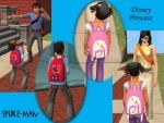 Wearable bags and other school accessories