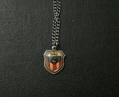 Ohio State Charm Necklace by thedepo on Etsy,