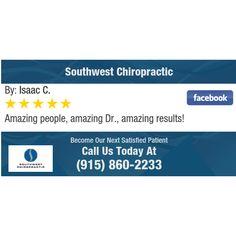 Amazing people, amazing Dr., amazing results!