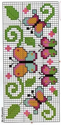 Thrilling Designing Your Own Cross Stitch Embroidery Patterns Ideas. Exhilarating Designing Your Own Cross Stitch Embroidery Patterns Ideas. Butterfly Cross Stitch, Cross Stitch Bird, Simple Cross Stitch, Cross Stitch Borders, Cross Stitch Animals, Cross Stitch Charts, Cross Stitch Designs, Cross Stitching, Cross Stitch Embroidery