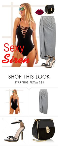 Sexy Siren by angelikasotovelez on Polyvore featuring Chloé and Lime Crime
