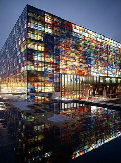 Instituut voor Beeld en Geluid, Hilversum, Noord-Holland. - #Netherlands #travel