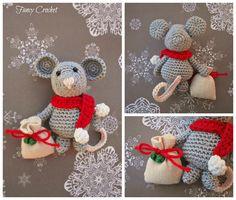 Topolino natalizio - Little mouse Christmas