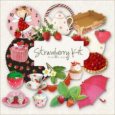 Free Kit Strawberry